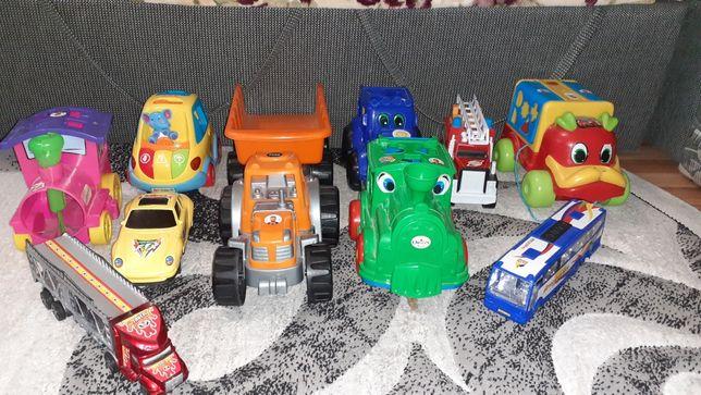 Машинки,паравозик,джип