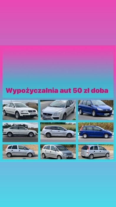 Wynajem wypożyczenie samochodu wypożyczalnia samochodów busa auta aut Gniezno - image 1