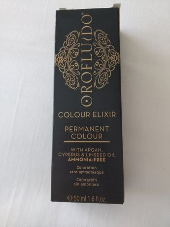Tinta para pintar cabelo Orofluido cor 4.3 Castanho claro Selado