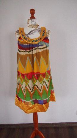 Sukienka kolory tęczy