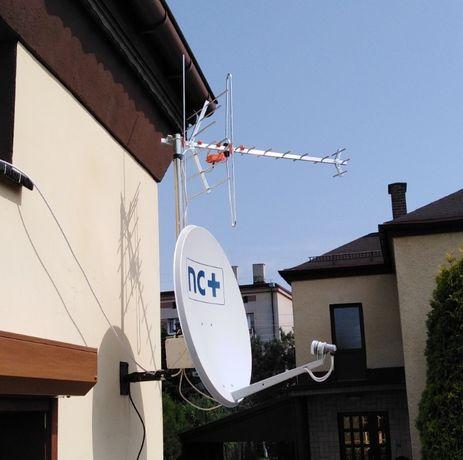 Montaż, ustawianie, serwis anten satelitarnych oraz naziemnych