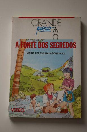 """Livro juvenil """"A Fonte dos Segredos"""""""