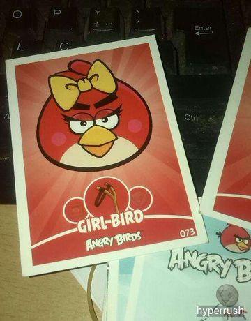 carta angry birds girl-bird