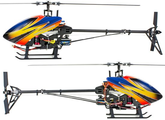 Helicoptero FlybarLess CopterX CX450 E Pro 3D; belt
