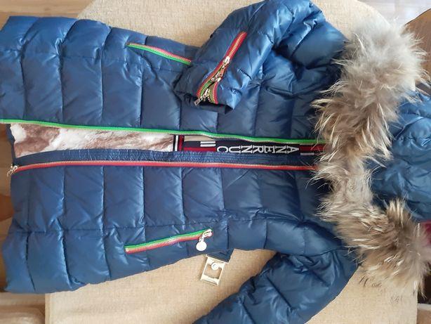 Продам Пальто зимнее тёплое для девочки
