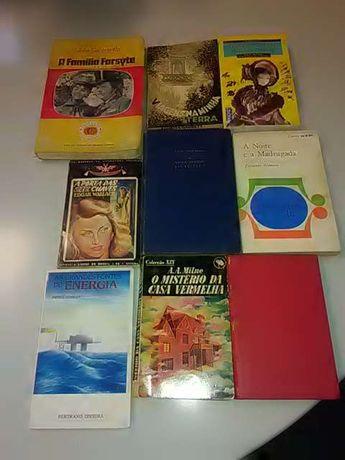 Lote de 9 livros