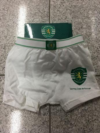 """Boxer de Criança """"Sporting Clube de Portugal"""" novo"""