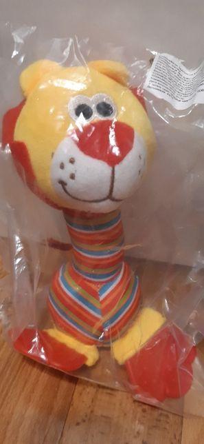 Погремушка развивающая игрушка, львенок