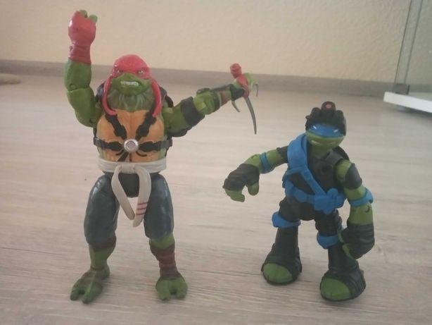Żółwie ninja zestaw figurki
