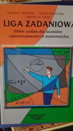 Liga zadaniowa - zbiór zadań z matematyki