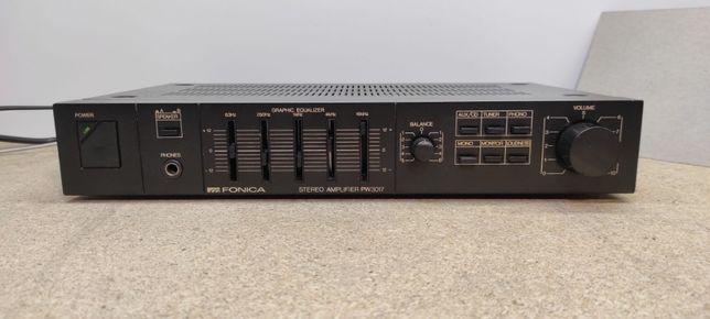 Unitra Fonica PW3017 - po serwisie + zabezpieczenie głośników