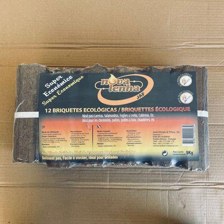 Briquetes Nova Lenha - preço inclui entrega