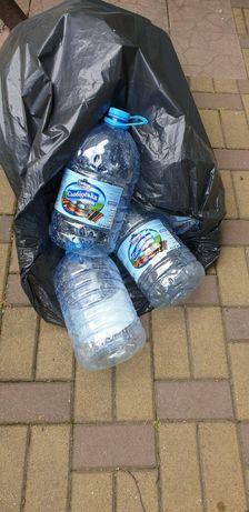Бутилки пластик 6 л.