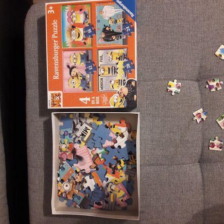 Puzzle 3+ Minionki