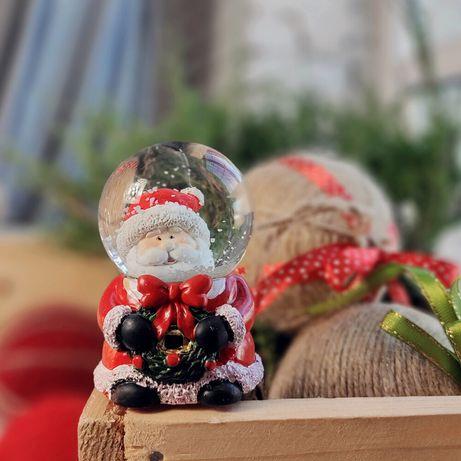 Декоративная новогодняя фигурка Санта (мал.)
