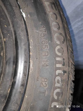 Um pneus com jante 175/65/14 e 3 com 225/55/16