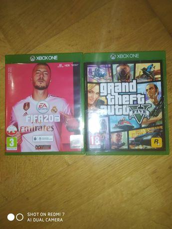 GTA 5 xbox one, FIFA 20 xbox one