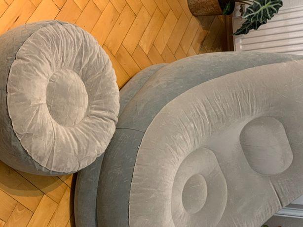 Fotel dmuchany+pompka elektr/Bestway Comfort Cruiser