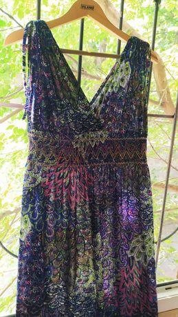 Платье сарафан в пол