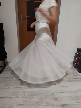 Halka budująca objętość do sukni ślubnej lub sukni balowa -biała.