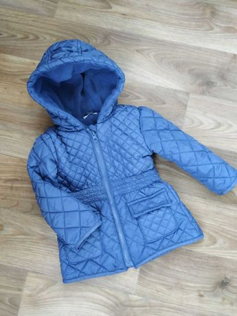 Демисезонная  куртка,плащ,курточка на флисе 86
