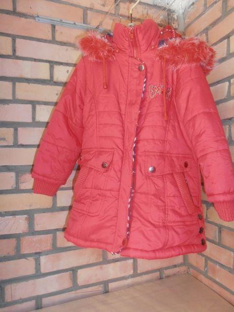 Курточка весна-осень на девочку 5-6 лет