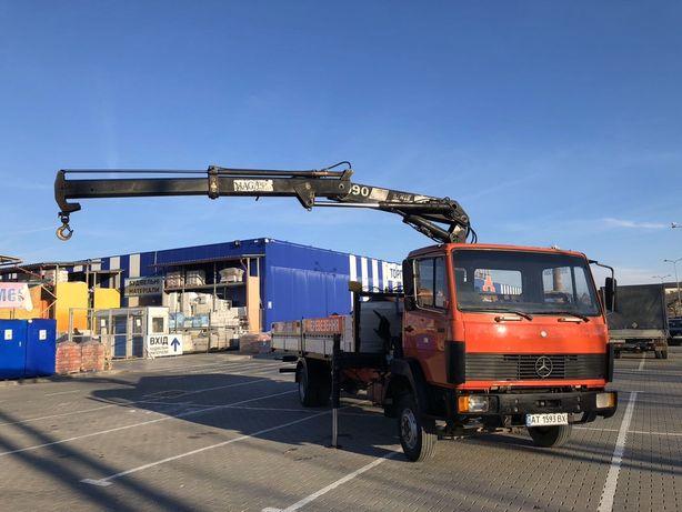 Перевезення вантажним Мерседес 814 з Краном маніпулятор - 6. тонн