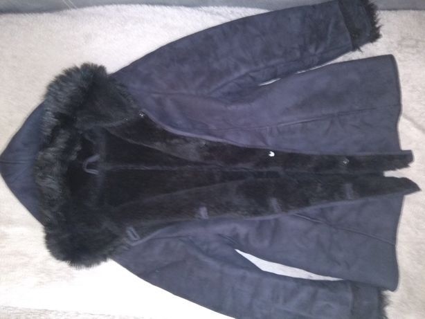 Kożuch kożuszek 38 m płaszczyk zimowy kurtka