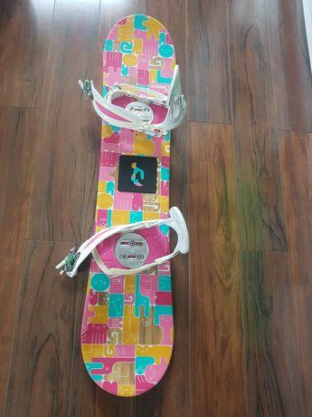 Snowboard Burton 120 cm + wiązania