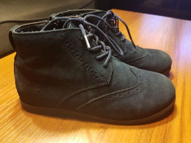 Reserved roz 33 buty trzewiki mokasyny