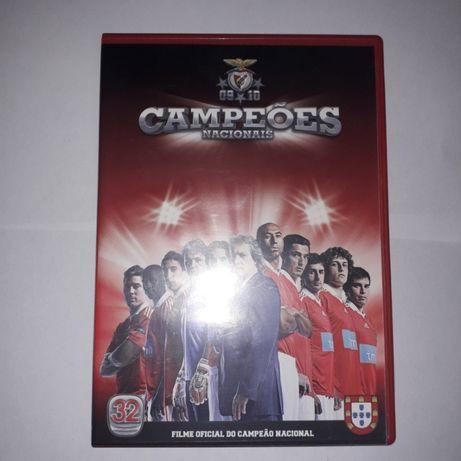 DVD Benfica campeão 2009/2010