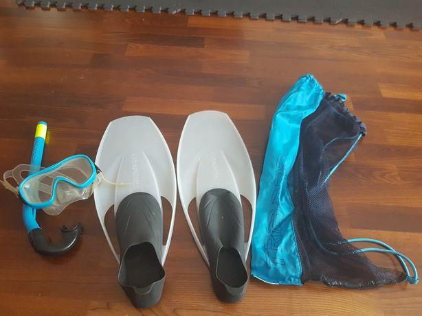 Equipamento snorkeling tam 38 - oferta sapatos hidroginástica