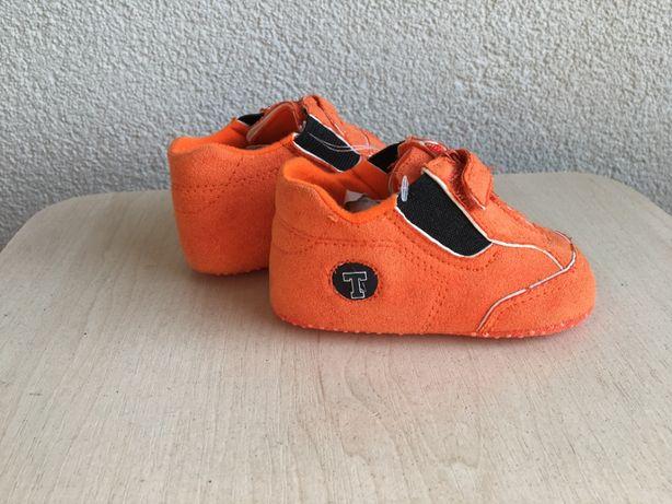 Пинетки первая обувь 11 см мокасины тапочки кеды антискользщие