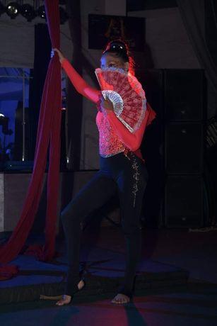 Костюм для воздушной гимнастики, образ Танго