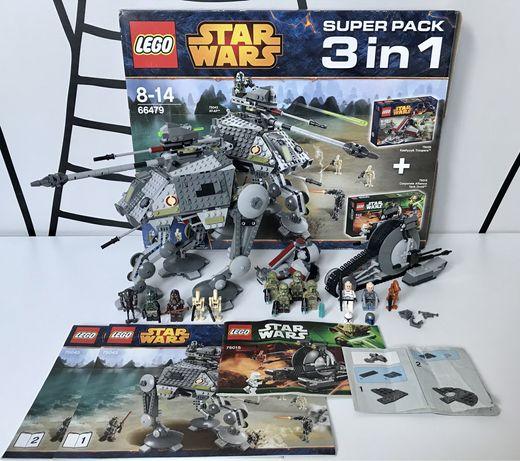 Klocki LEGO Star Wars 3w1, 75043 , 75015 , 75035