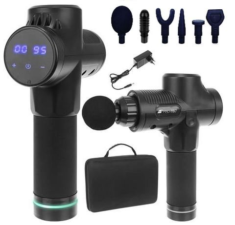 MASSAGE GUN -MUSCLE GUN Pistola de Massagem Muscular