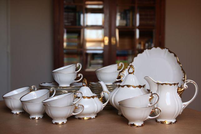 Serwis dla 12 osób Sorau Princessa Żary biała porcelana