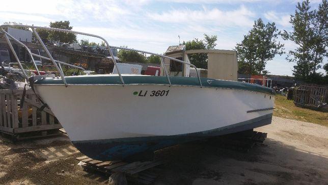 łódź Libella Prasident 1966 rok do renowacji Oldtimer