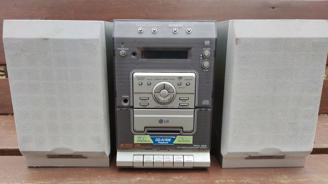 Miniwieża LG FFH-164. Wieża, CD Magnetofon Radio
