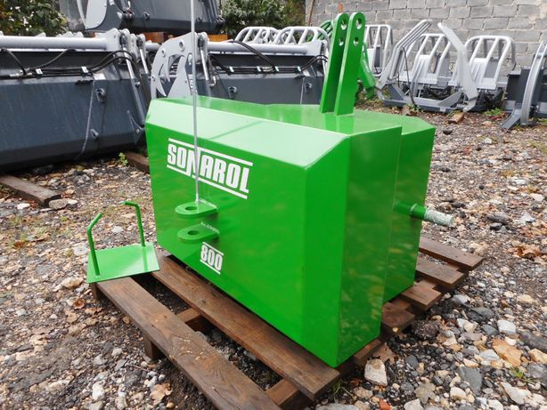 SONAROL Balast Obciążnik na Tuz 800 kg Zielony John Deere Fendt Deutz