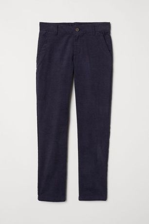 Вельветовые брюки h&m р.134