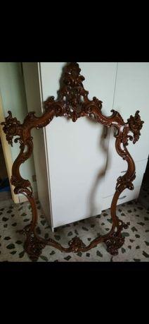 Зеркало барокко резное
