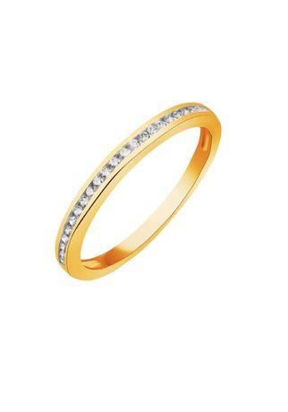 APART 585 rozm. 13 pierścionek obrączka eternity ring złoto