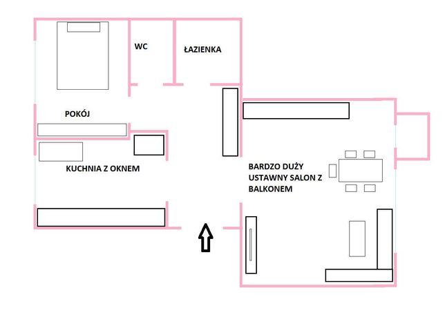 Sprzedam atrakcyjne mieszkanie 2 pokoje super lokalizacja.