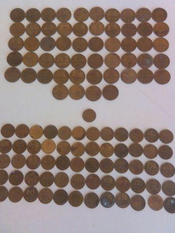 Монеты 1,2 копейки СССР