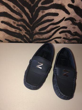 Туфли для мальчика мокасины