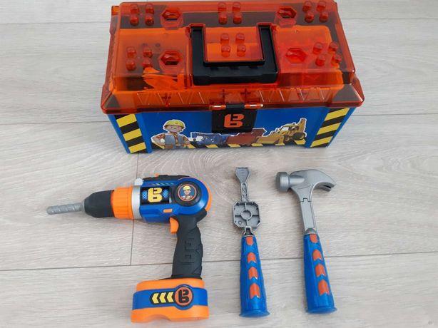 Zabawki skrzynka narzedziowa dziecięca Bob Budowniczy