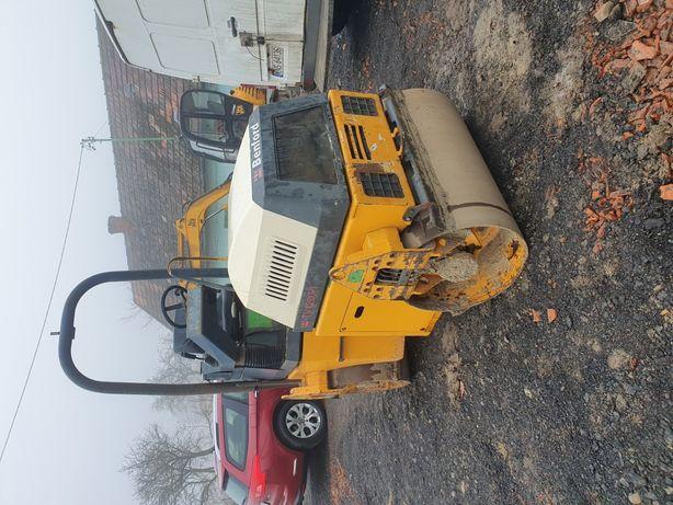 Walec terex 3 tony benford jcb terex tv1200 wozidlo zamiana