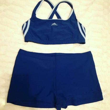 Fato de Banho/Biquíni de Desporto Azul Escuro da Adidas