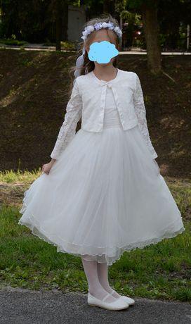 Sukienka komunijna firmy SLY rozm. 128